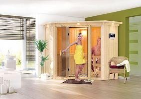 Fínska sauna KARIBU FLORA 1 (57003)