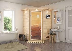 Fínska sauna KARIBU FRANKA (59950)
