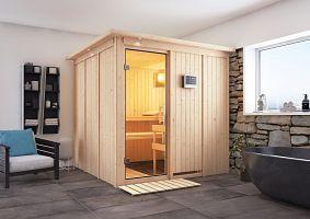 Fínska sauna KARIBU RODIN (75730)