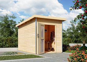 Fínska sauna KARIBU TORGE (86196) s predsieňou