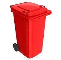 Smetná nádoba 240 l FEREX červená
