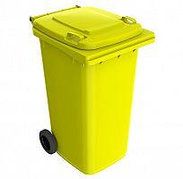 Smetná nádoba 240 l FEREX PREMIUM žltá