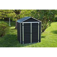 Plastový záhradný domček Palram Skylight 6x5 antracit