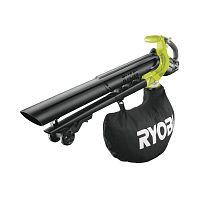 AKU bezuhlíkový fúkač/ vysávač Ryobi OBV18