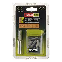 16 ks sada príslušenstva Ryobi RAK 16 FP - ideálna na prácu so sektorovým nábytkom