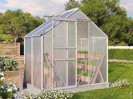 skleník VITAVIA TARGET 2500 PC 4 mm strieborný