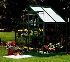 Skleník VITAVIA VENUS 2500 číre sklo 3 mm zelený