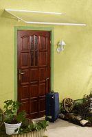 Strieška nad dvere LANITPLAST MELES 120/85 biela