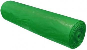 Vrecia na odpad zelené 120 l