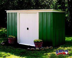 Záhradný domček ARROW PT 104 zelený