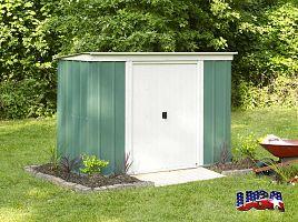 Záhradný domček ARROW PT 84 zelený