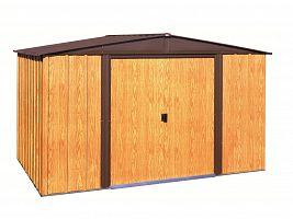 Plechový záhradný domček ARROW WOODLAKE 1012