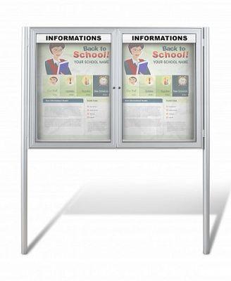 10 dôvodov, prečo používať v meste či v obci informačné vitríny