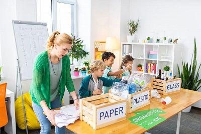 Učíme sa separovať: Vláčik separáčik pomôže deťom triediť odpad