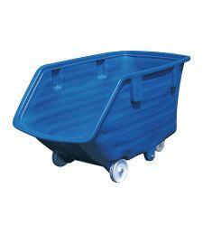 Plastový výklopný kontajner- kolesá