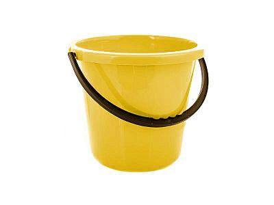 Plastové vedro 10 l žlté