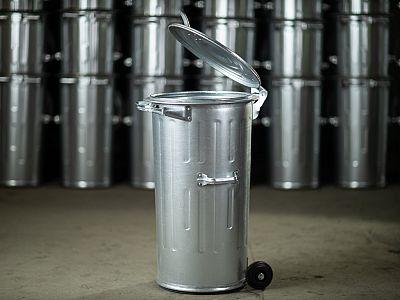 Kuka nádoba 110 l s pojazdnými kolieskami FEREX - 1,00 mm