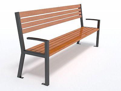 Dizajnová lavička K1147