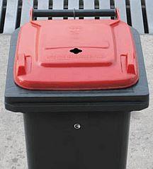 Plastová nádoba 120 l na batérie