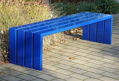Oceľová lavička O1008
