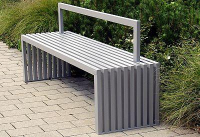 Oceľová lavička O1009