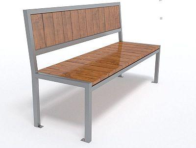 Dizajnová lavička K1117