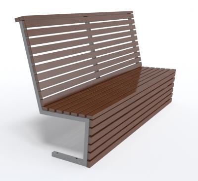 Dizajnová lavička K1130