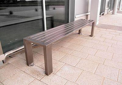 Oceľová lavička O1011