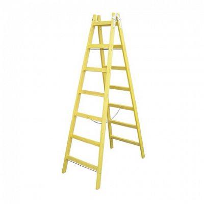 Drevený rebrík - 5 stupňov