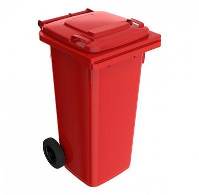 Smetná nádoba 120 l FEREX červená