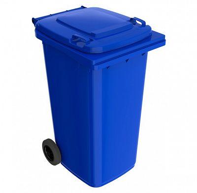 Smetná nádoba 240 l FEREX modrá