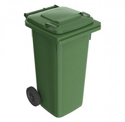Smetná nádoba 120 l FEREX zelená