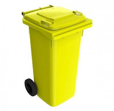Smetná nádoba 120 l FEREX žltá