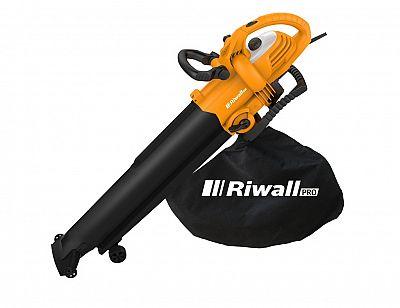 Elektrický fukár/vysávač na lístie Riwall PRO REBV 3000