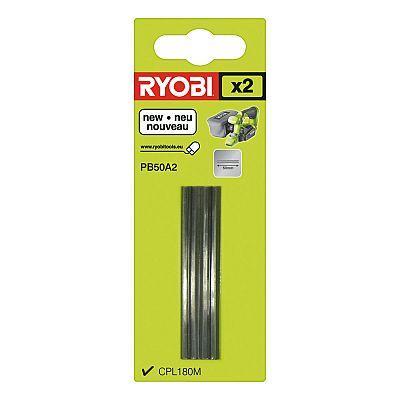 Sada nožov do hoblíku 2ks Ryobi PB 50 A2