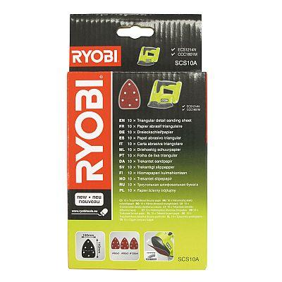 Sada brúsnych papierov Ryobi SCS 10 A1