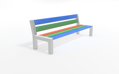 Detská lavička DL1007